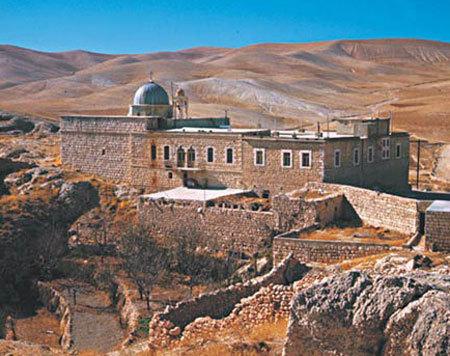 Manastirea Sfintii Serghie si Vah - Maaloula