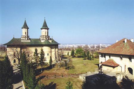 Manastirea Inaltarea Domnului - Galata