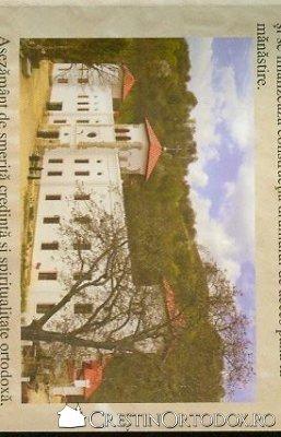 Manastirea Arnota - Fatada de intrare