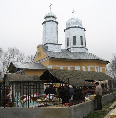 Biserica Sfanta Parascheva si Sfantul Nicolae