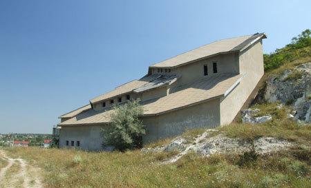 Basarabi - complexul de biserici rupestre