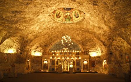 Biserica Sfanta Varvara - biserica din mina