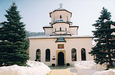Manastirea Tismana - un omofor de piatra peste cascade
