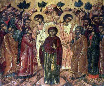 Maica Domnului in colindele religioase romanesti