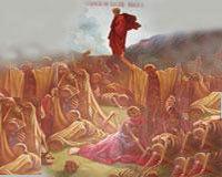Talcuire la vedenia prorocului Iezechiel