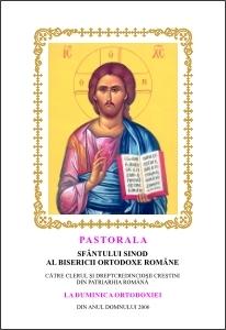Pastorala Sf. Sinod al Bisericii Ortodoxe Romane la Duminica Ortodoxiei, 2006