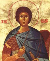 Moastele sfintilor martiri Dasius si Emilian din Durostor in Eparhia Sloboziei si Calarasilor