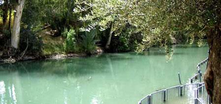 Iordanul - apa in care a fost botezat Hristos