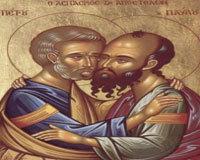 Sfintii Apostoli  Petru si  Pavel in iconografie