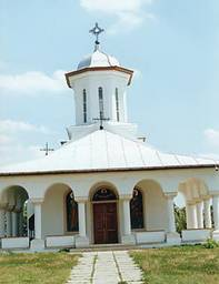 Resfintirea paraclisului Manastirii Balaciu