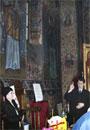 Sfanta Liturghie transpusa in limbaj mimico-gestual la Biserica Popa Nan din Bucuresti