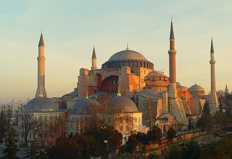 Stilul bizantin in timpul imparatului Iustinian