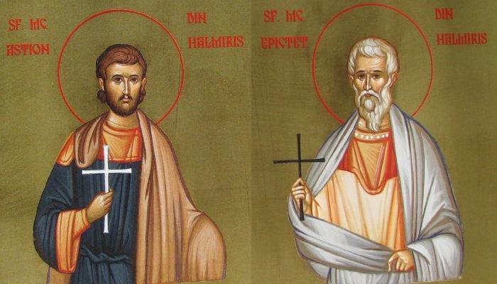 Sfinti dacoromani si sfinti romani mai vechi