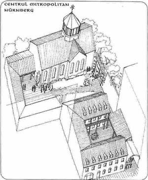 Cai de acces spre Biserica Mitropolitana