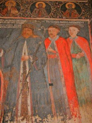Biserica Stavropoleos - Fresca