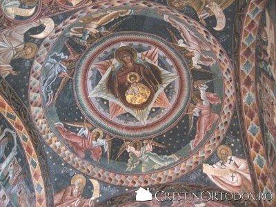 Manastirea Voronet - Maica Domnului