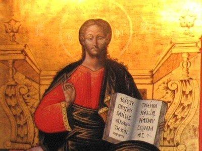 Manastirea Voronet - Mantuitorul Hristos