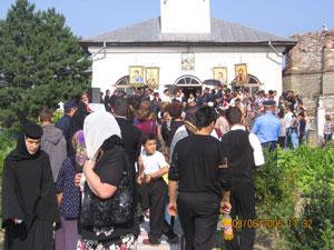 Procesiunea cu moastele Sfintilor Zotic, Atal, Camasie si Filip