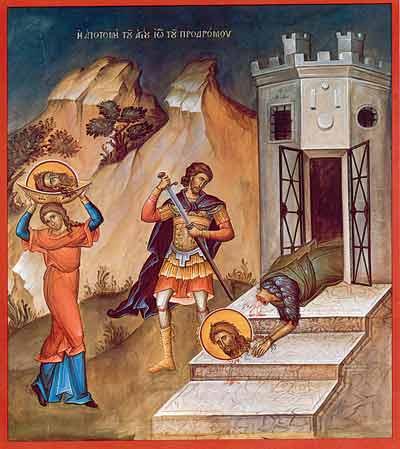 Taierea Capului Sfantului Ioan Botezatorul, zi de post