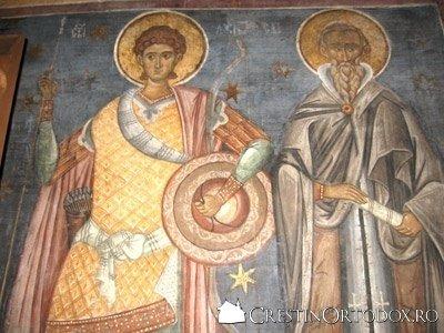 Manastirea Voronet - Sfinti