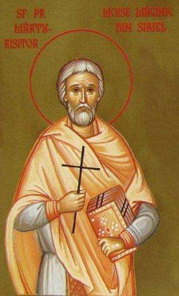 Preotul marturisitor Moise Macinic din Sibiel