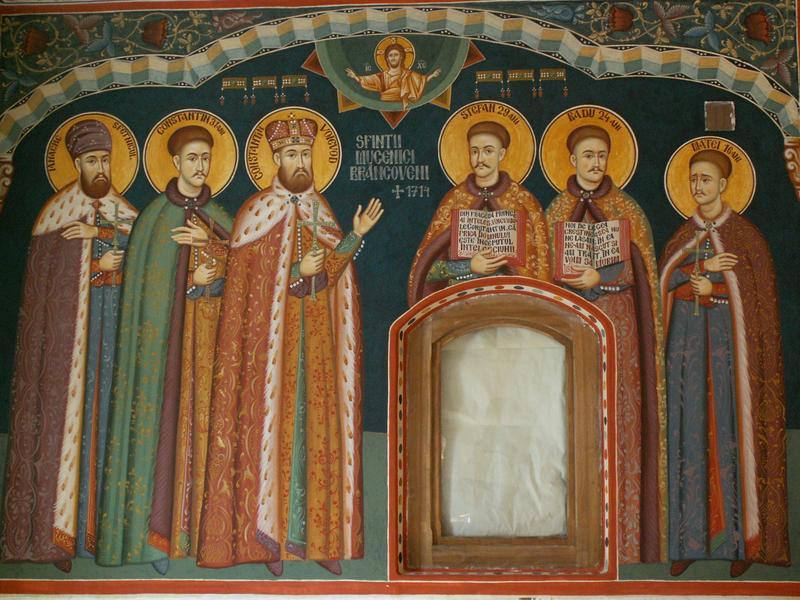Sfintii martiri Brancoveni si sfetnicul Ianache