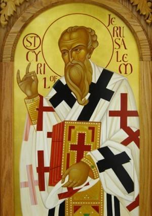 Sfantul Chiril al Ierusalimului