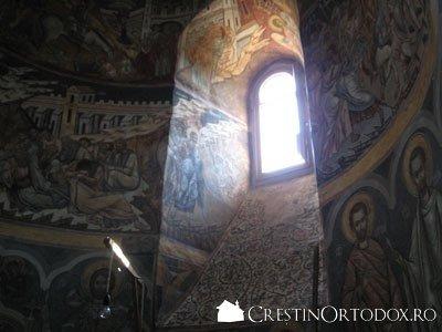 Manastirea Probota - Absida laterala