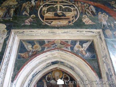 Manastirea Probota - Tronul Judecatii