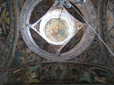 Manastirea Probota - Turla (interior)