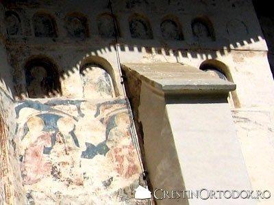 Manastirea Probota - Contrafort