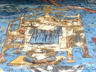 Manastirea Humor - Tronul Epitamasiei