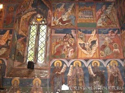 Manastirea Humor - Pronaosul