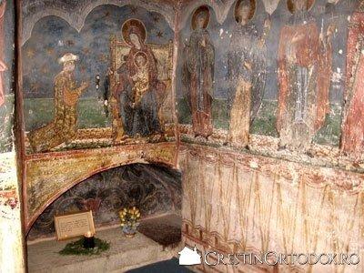 Manastirea Humor - Gropnita (morminte ale ctitorilor)