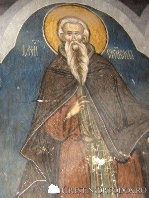 Manastirea Humor - Sfantul Daniil Sihastul
