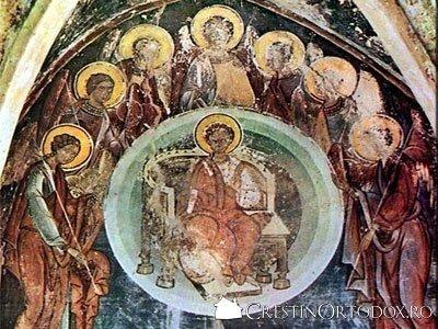 Manastirea Balinesti - Mantuitorul Hristos pe tron