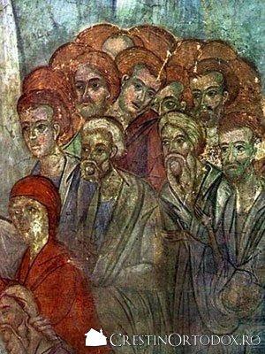 Manastirea Balinesti - Pogorarea la iad (detaliu)