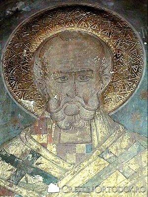 Manastirea Balinesti - Sfantul Nicolae
