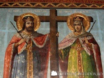 Schitul Maicilor - Sfintii Imparati Constantin si Elena