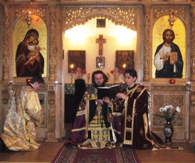 Liturghia Darurilor mai inainte sfintite