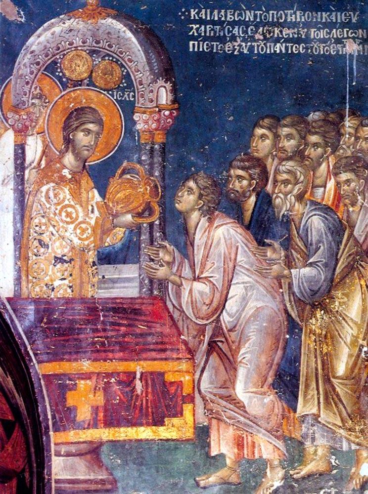 Primirea Sfintei Impartasanii in Postul Mare