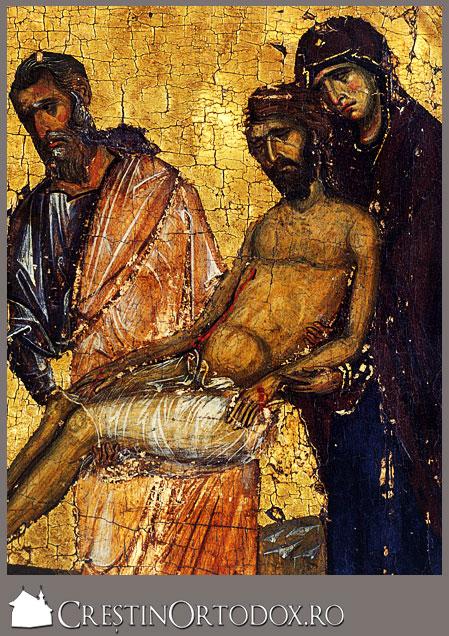 Patimile Domnului - Coborarea de pe cruce