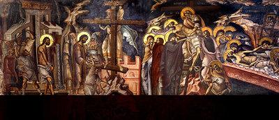 Vinerea Mare - moartea si ingroparea Domnului (Zi aliturgica. Denia Prohodului Domnului)