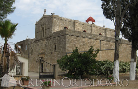 Muntele Tabor - Manastirea Schimbarea la Fata