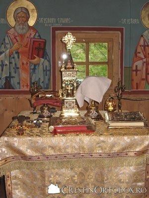 Sfanta Masa - Altar