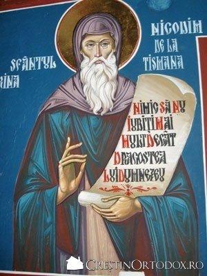 Paraclisul Manastirii Sfantul Gheorghe - Sfantul Nicodim de la Tismana