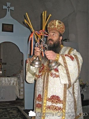 Paraclisul Manastirii Sfantul Gheorghe - PS Galaction Stanga