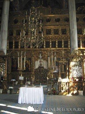 Biserica Barboi - Tampla