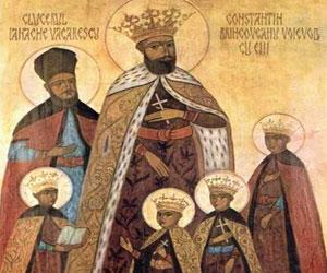 Brancovenii - printi de aur cu coroane de martiri