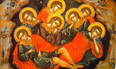 Sfintii sapte tineri din Efes care au dormit 200 de ani